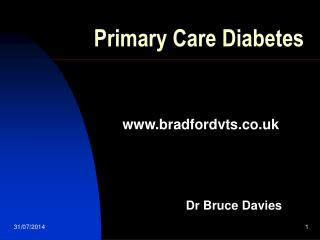 Primary Care Diabetes