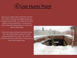 Live Hunts Point