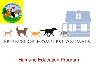 Humane Education Program