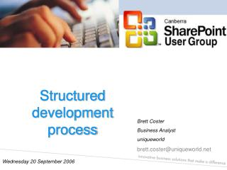 Structured development process