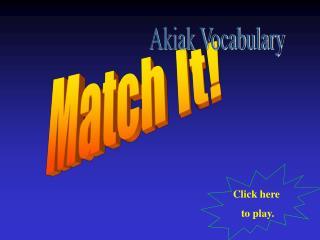 Match It!