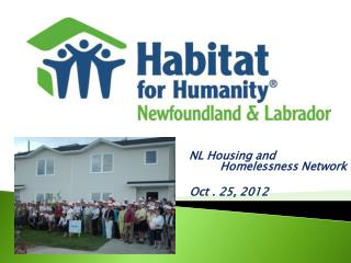 NL Housing and 			                                Homelessness Network