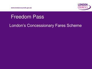Freedom Pass