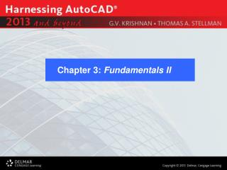 Chapter 3:  Fundamentals II