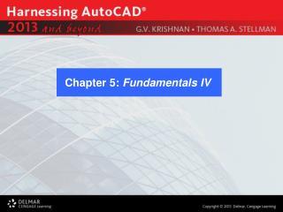 Chapter 5:  Fundamentals IV