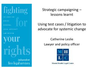 Why use litigation?