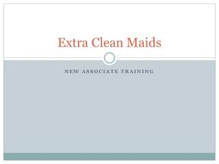 Extra Clean Maids