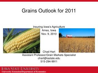 Grains Outlook for 2011