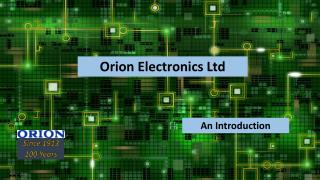 Orion Electronics Ltd