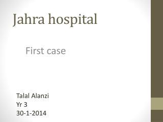Jahra  hospital