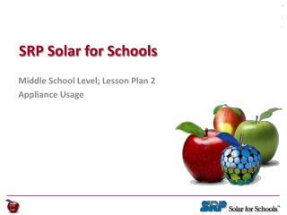 SRP Solar for Schools