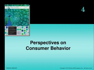 Perspectives on Consumer Behavior