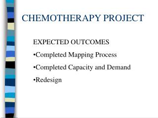 CHEMOTHERAPY PROJECT
