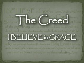 The Creed