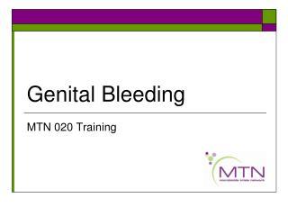 Genital Bleeding