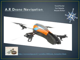A.R Drone Navigation