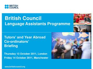 British Council  Language Assistants Programme