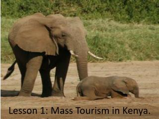 Lesson 1: Mass Tourism in Kenya.