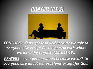 PRAYER (PT.3)