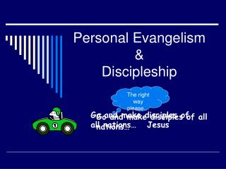 Personal Evangelism  Discipleship