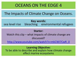 OCEANS ON THE EDGE 4