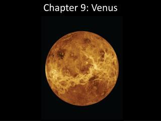 Chapter 9: Venus