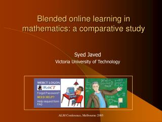 Blended online learning in mathematics: a comparative study
