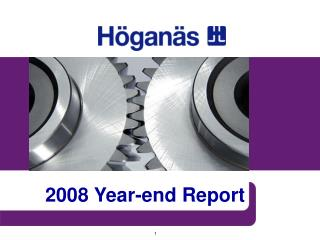 2008 Year-end Report