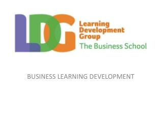 BUSINESS LEARNING DEVELOPMENT