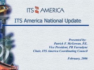 ITS America National Update