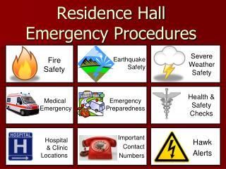 Residence Hall  Emergency Procedures