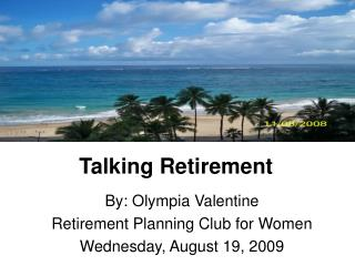 Talking Retirement