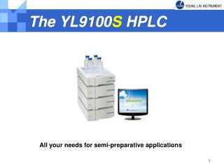 The YL9100 S  HPLC
