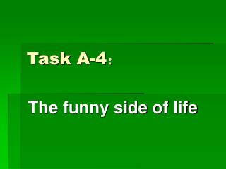 Task A-4 :
