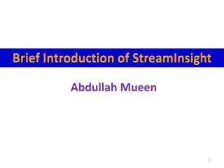 Abdullah  Mueen