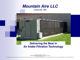 Air Intake Filters Are Manufactured By: