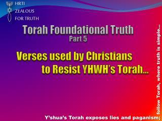 HRTI  ZEALOUS  FOR TRUTH