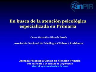 En busca de la atención psicológica especializada en Primaria
