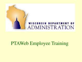 PTAWeb Employee Training