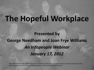 The Hopeful Workplace