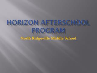 Horizon Afterschool Program