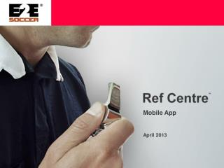 Mobile App  April 2013