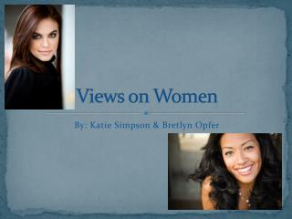 Views on Women