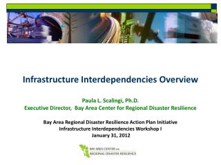 Infrastructure Interdependencies Overview Paula L. Scalingi, Ph.D.