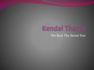Kendal Tharpe