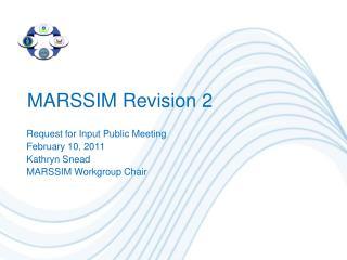 MARSSIM Revision 2
