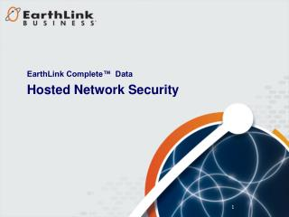 Hosted Network Security