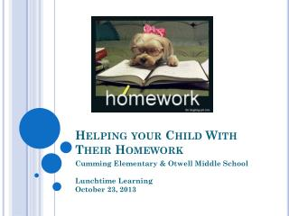 Helping your Child With Their Homework