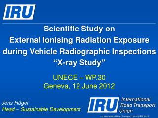 UNECE � WP.30 Geneva, 12 June 2012