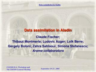Data assimilation in Aladin